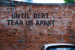 personal debt is the opposite of financial freedom